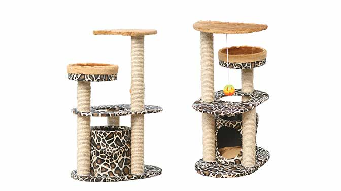 best cat trees for declawed cats